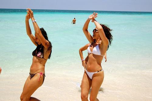 Bikini Beach Cuba Caribbean