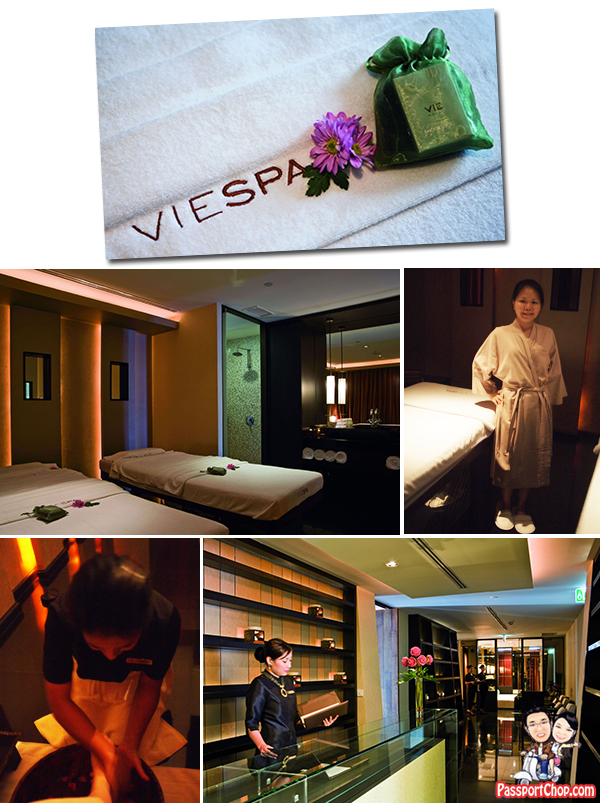 VIE Spa Neck and Shoulders Massage Bangkok VIE Hotel Deep Sleep Package Jet Lag Massage