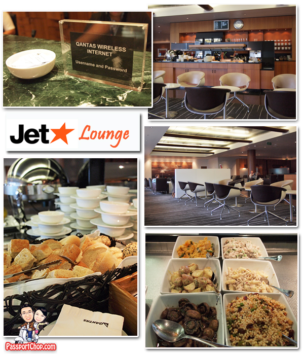 Jetstar Auckland Starclass Qantas Lounge Access Food Snacks
