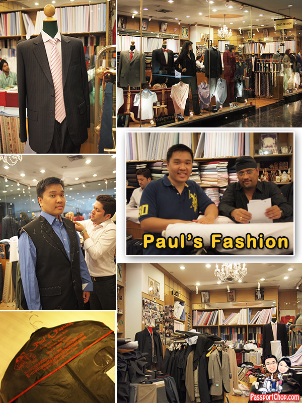Paul's Fashion Bangkok Tailor Made Suit Amari Watergate Hotel