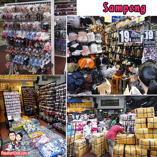Sampeng Lane Chinatown Shopping District Fashion Accesories