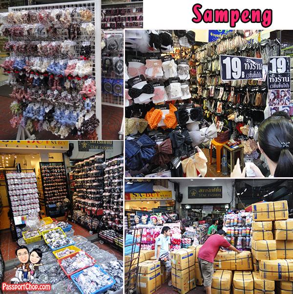 Sampeng Lane Chinatown Shopping District Fashion Accesories