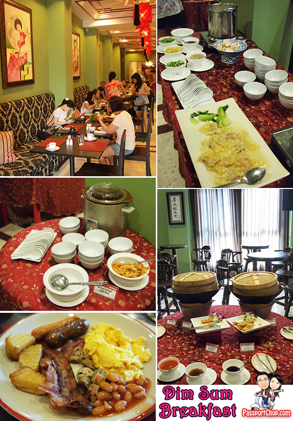 Shanghai Manshion Bangkok Thailand Boutique Hotel Chinatown Yaowarat Western and Chinese Breakfast