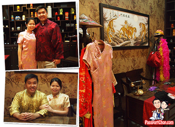 Shanghai Manshion Bangkok Thailand Boutique Hotel Chinatown Yaowarat Costume Gallery Chinese Traditional Props Fans Pigtail