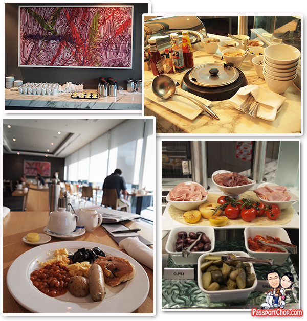 SkyCity Grand Hotel English Full Continental Breakfast The Terrace