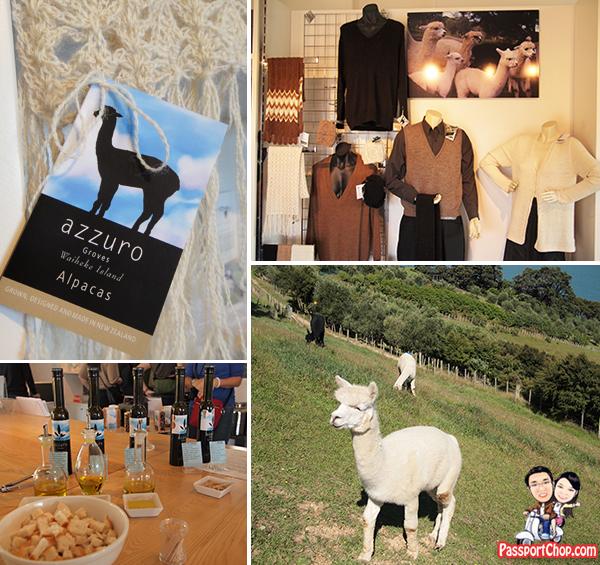 Waiheke Island Auckland Alpaca Product Shopping