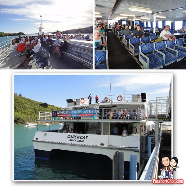 Fullers Ferry Waiheke Island Auckland