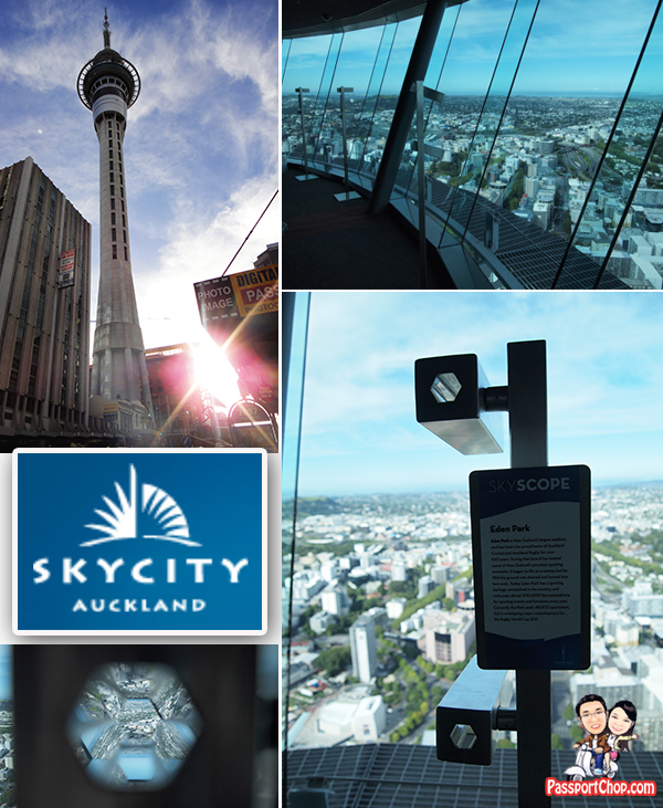 SkyTower Auckland New Zealand SkyDeck Main Observation Level