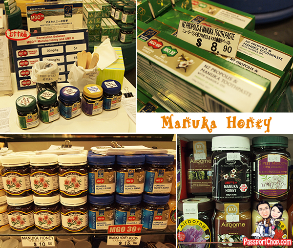 New Zealand Auckland Souvenirs Food Goodies Chocolate Manuka Honey Jar Toothpaste