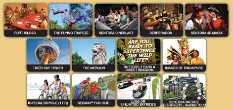 Sentosa Play Day Pass 13 Attractions Value for Money