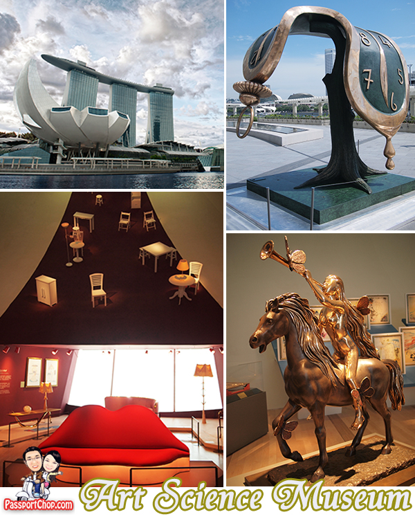 ArtScience Museum Marina Bay Sands Dali Exhibition