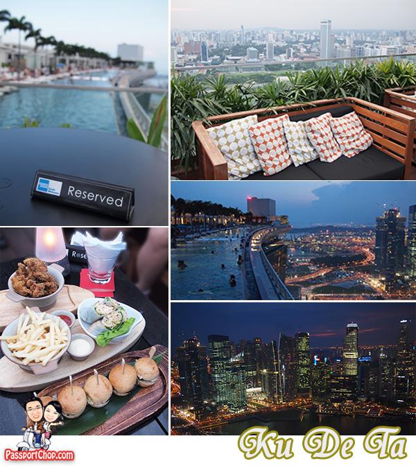 Ku De Ta Club Lounge Sands Skypark Exclusive Snacks