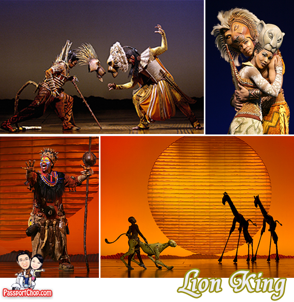 The Lion King musical production Marina Bay Sands