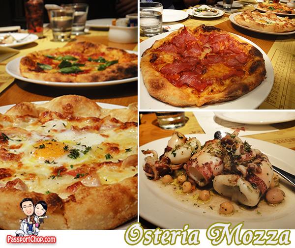Marina Bay Sands Osteria Mozza Pizza Mario Batali Celebrity Restaurants