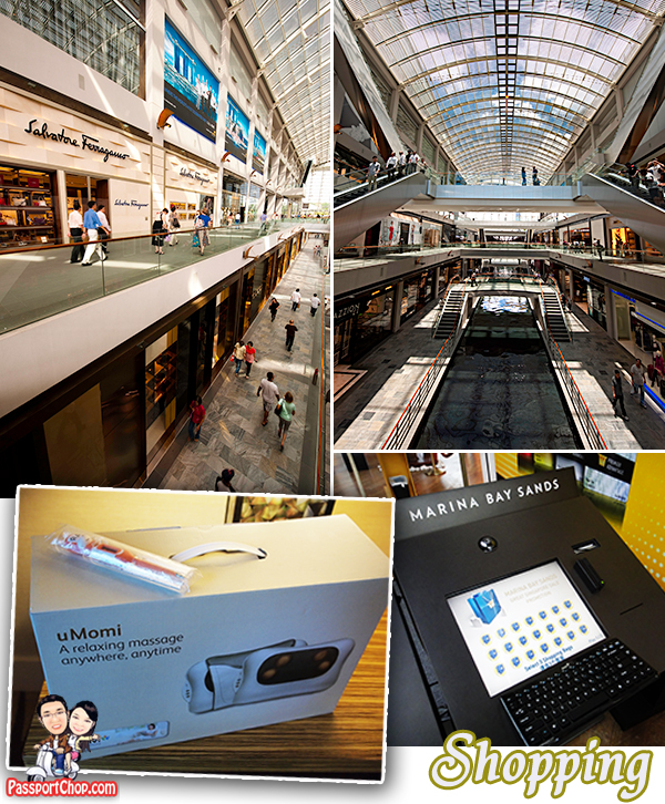 Great Singapore Sale Shopping at the Shoppes Marina Bay Sands
