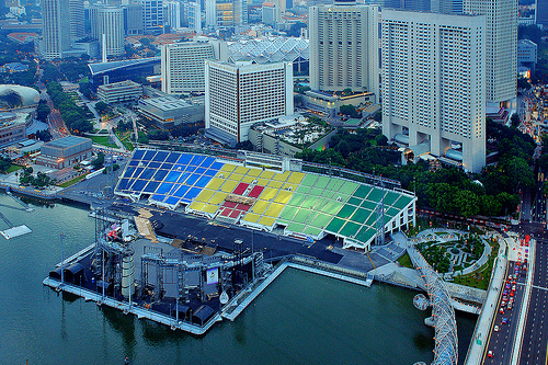 Floating Platform Marina Float Singapore