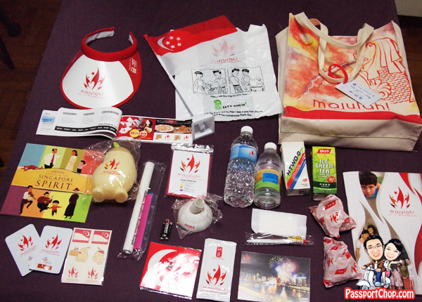 National Day Parade Fun Pack 2011 NDP