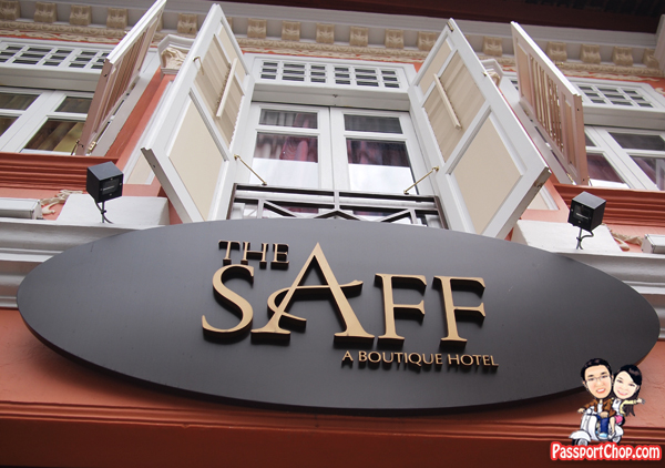 The Saff Boutique Hotel Staycation Singapore Accommodation Keong Saik Road Chinatown Middle Eastern Influence Arab Deluxe Double Bedroom
