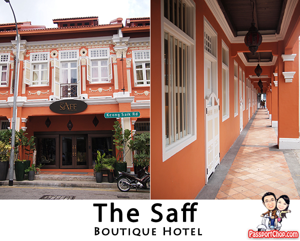 The Saff Boutique Hotel Staycation Singapore Accommodation Keong Saik Road Chinatown