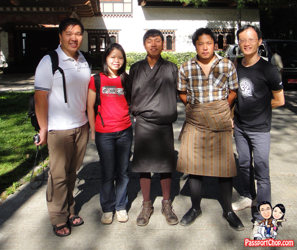 Bhutan All Bhutan Connection ABC Guide and Driver Tenzing Lhawang Dorji