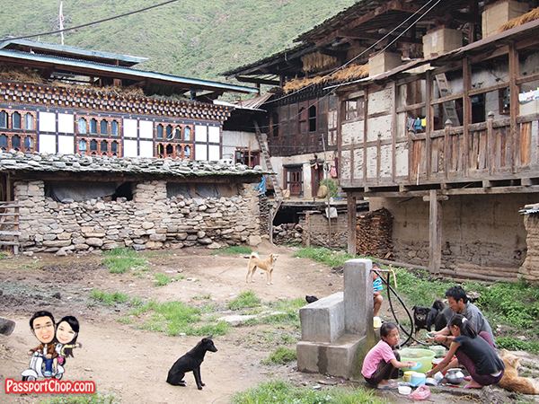 Local Culture DrukAsia Bhutan Farm House Visit