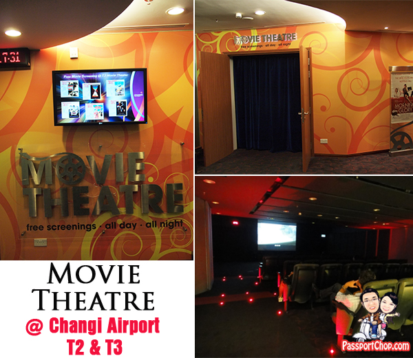 Movie Screening Theatre Cinema Changi Airport Terminal 2 and 3 Transit Area