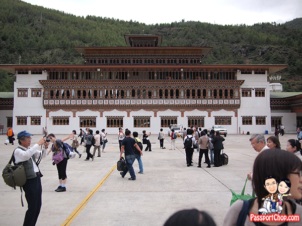 No Travel Restrictions to Bhutan DrukAsia Paro Airport