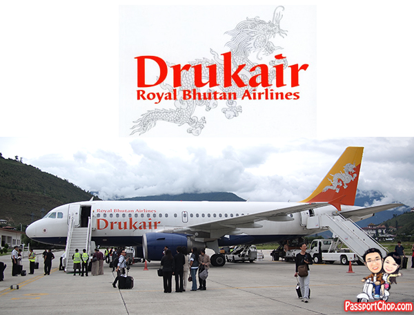Druk Air Royal Bhutan Airlines DrukAsia