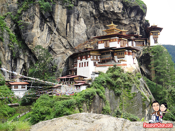 Tiger's Nest Taktshang Goemba climb Great Bhutan Weather All-Weather Country