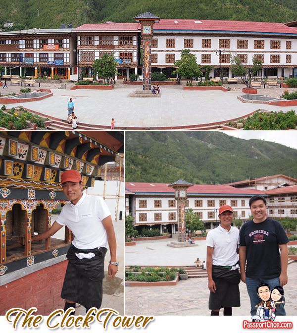 Thimphu City Bhutan Capital Clock Tower