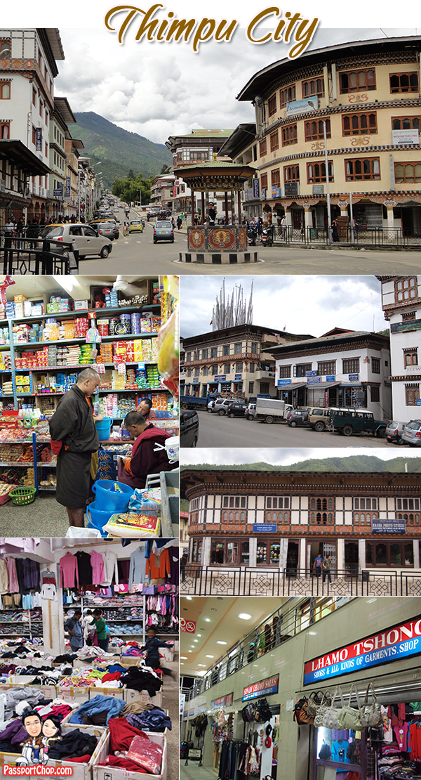Thimphu City Bhutan Capital