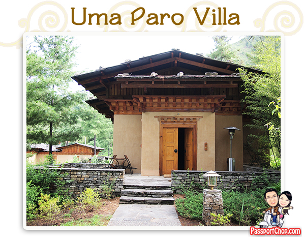 Uma Paro Villa Luxury Suite Bhutan Accommodation