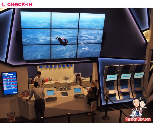 iFly Singapore Sentosa Skyventure PassportChop Flight Experience Check-in