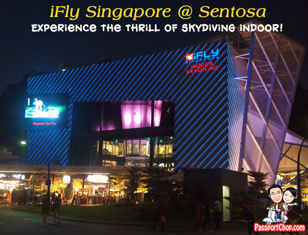 iFly Singapore Sentosa Skyventure PassportChop Flight Experience