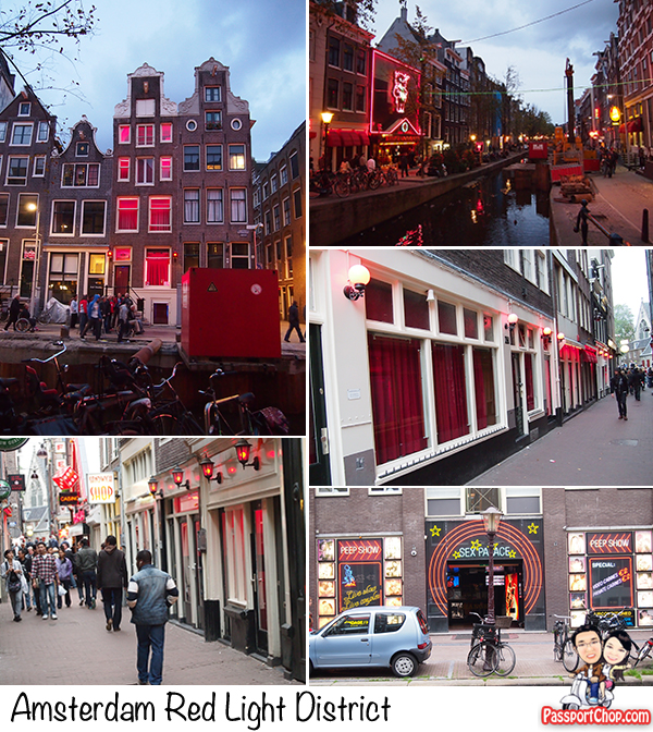 Amsterdam Red Light District Netherlands Holland Prostitution Window