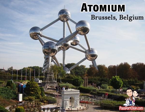 Brussels Atomium Belgium Taste Restaurant Sphere