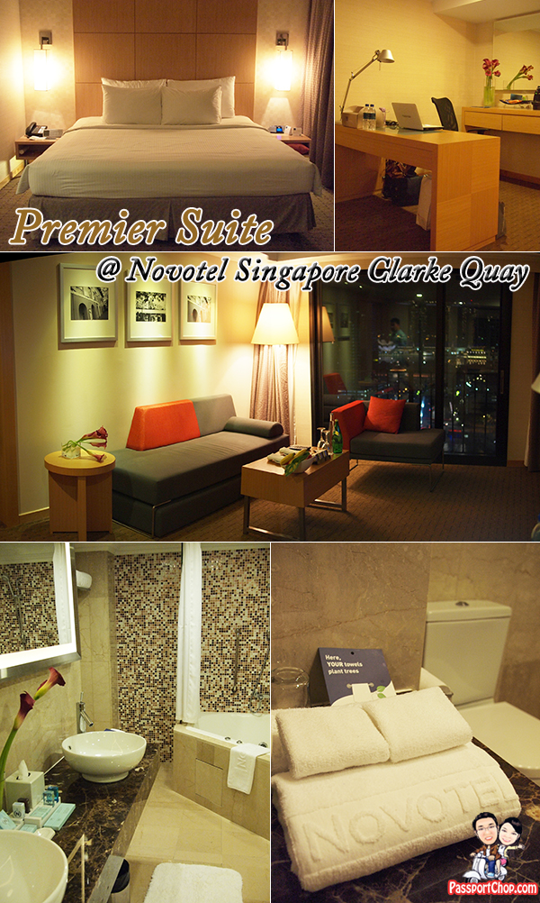 Novotel Clarke Quay Premier Suite staycation Singapore Hotel