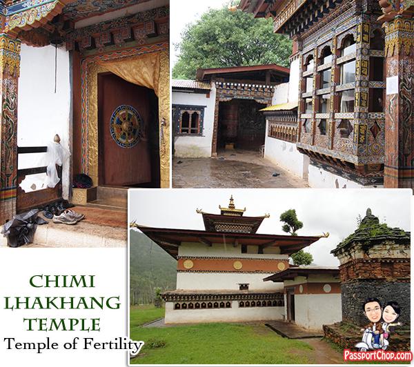 Chimi Lhakhang Punakha Bhutan Divine Madman Temple Fertility Chorten Legend Dog Phalluses Penis