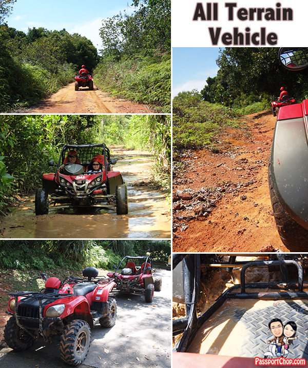Bintan Resort Centre Indonesia nirwana Gardens All Terrain Vehicle adventure Quad Bike