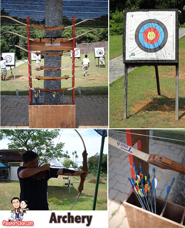 Bintan Resort Centre Archery Shooting Indonesia nirwana Gardens