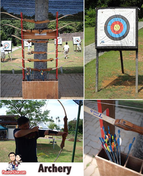 Bintan Resort Centre Archery Shooting Indonesia nirwana Gardens