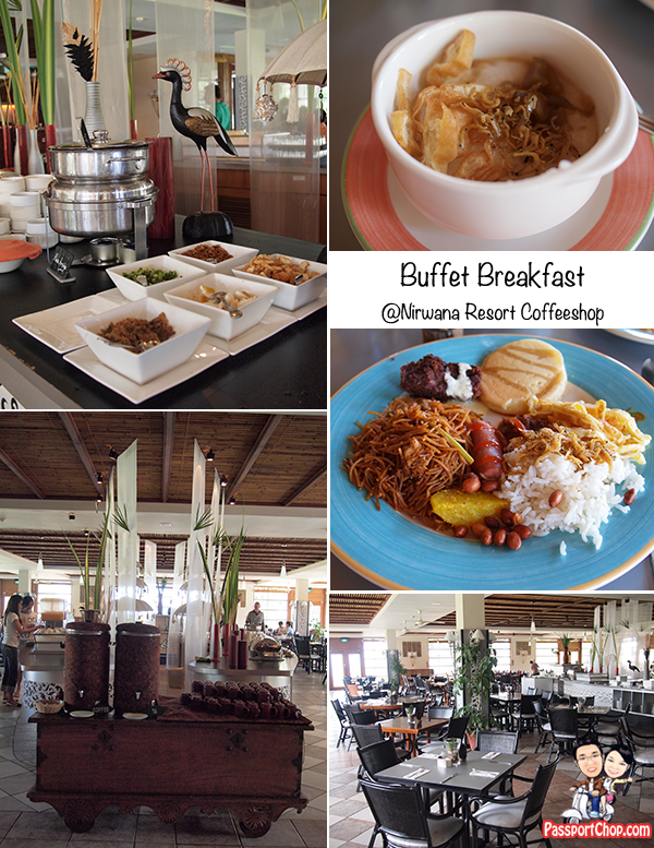 Nirwana Garden Resort Coffeeshop International Buffet Breakfast