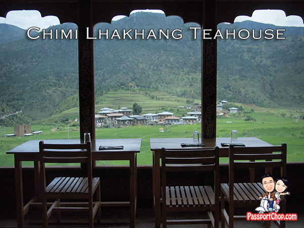 Chimi Lhakhang Teahouse Cafeteria Yoga Practice