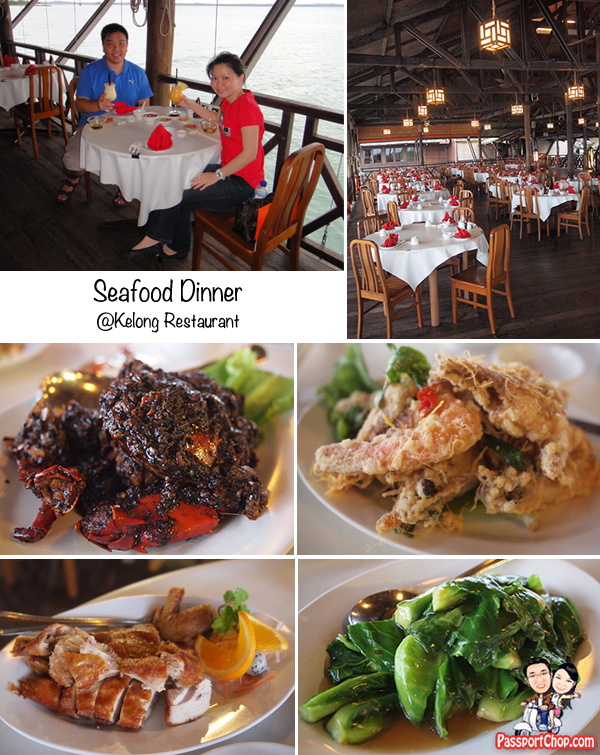 Bintan Nirwana Garden Resort Kelong Restaurant Seafood Sunset View