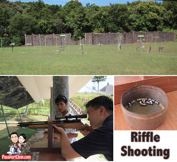 Bintan Resort Centre Indonesia nirwana Gardens Rifle Shooting