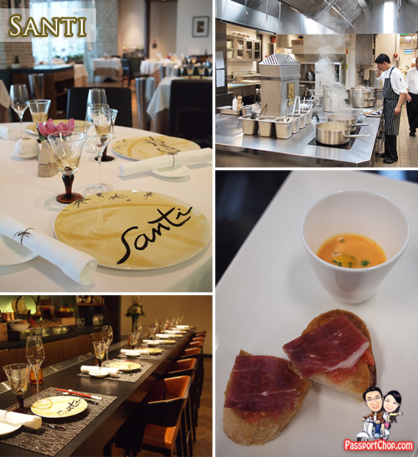 Santi Spanish Tapas Marina Bay Sands Celebrity Restaurant Asia's Dining Destination Package Gastronomic Discovery at Marina Bay Sands Kitchen Tour