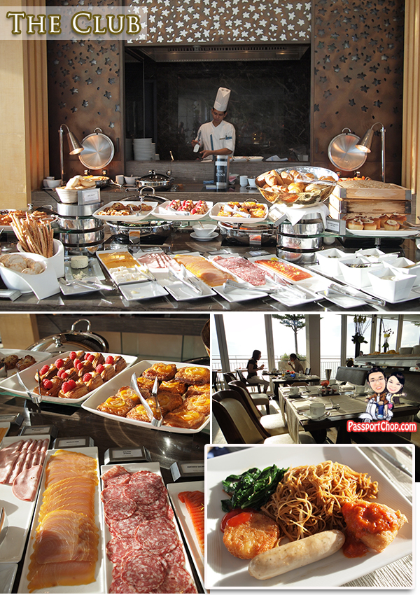 The Club Breakfast Buffet International Marina Bay Sands Celebrity Restaurant Asia's Dining Destination Package Gastronomic Discovery at Marina Bay Sands Kitchen Tour