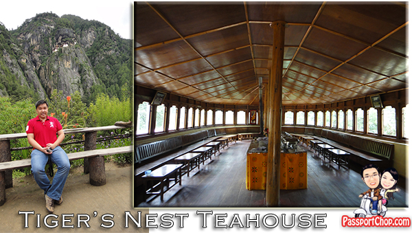 Tiger's Nest Teahouse Takshang Monastery Cafeteria Yoga Practice