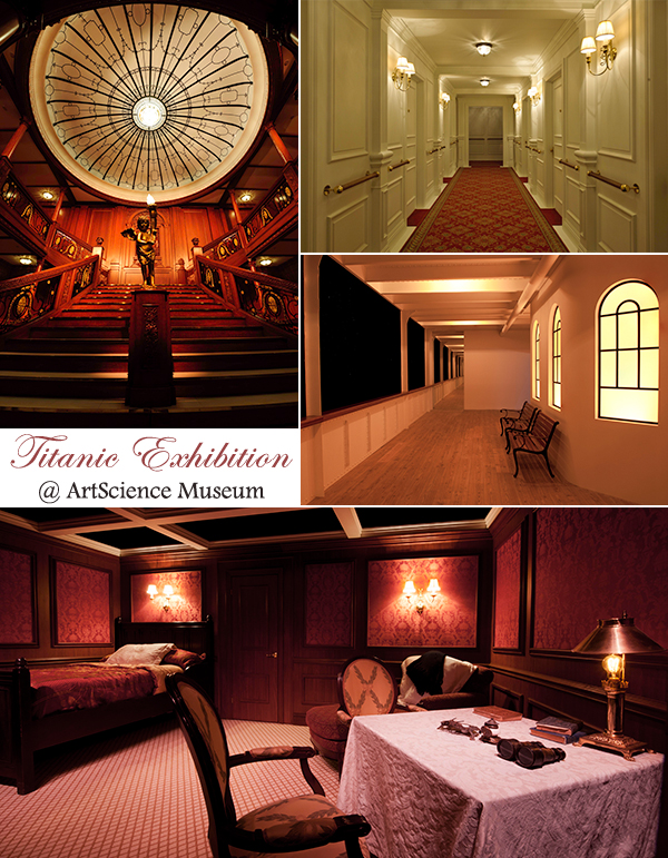 ArtScience Museum Marina Bay Sands Titanic Exhibition