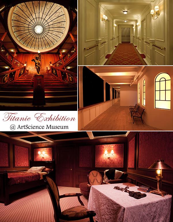 ArtScience Museum Marina Bay Sands Titanic Exhibition